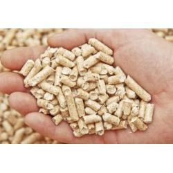 Træpiller 8 mm blæst 6 ton