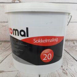 Sokkelmaling 2,5 Liter Sort