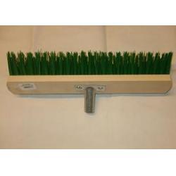 Gadekost 40 cm m/nylon børster