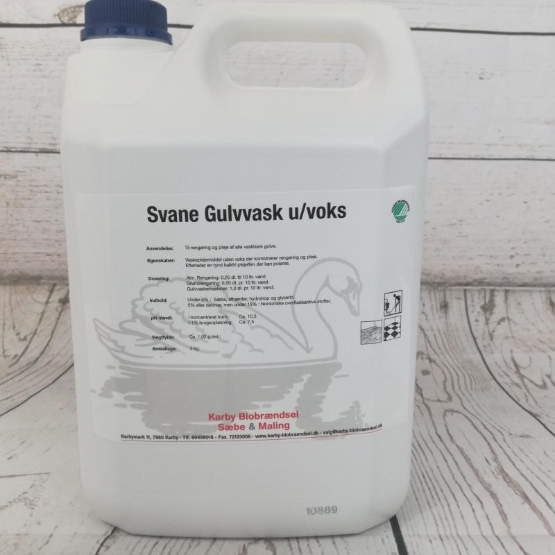 Svane Gulvvask U/voks 5L.
